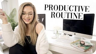How to be Productive! My Productive Routine!