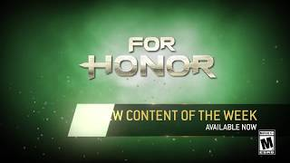 For Honor Trailer oficial de la actualización semanal para noviembre 14 thumbnail