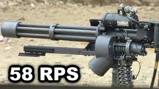 Repeat youtube video M134 Minigun Firing (w/Slow Motion) at Knob Creek