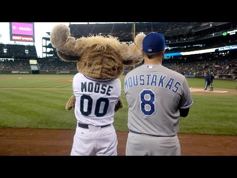 Mariner Moose. Seattle Mariners. Best Moments
