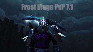 Legion Frost Mage PvP Movie 7.1+ Tzurne Sylvanas EU WoW 110