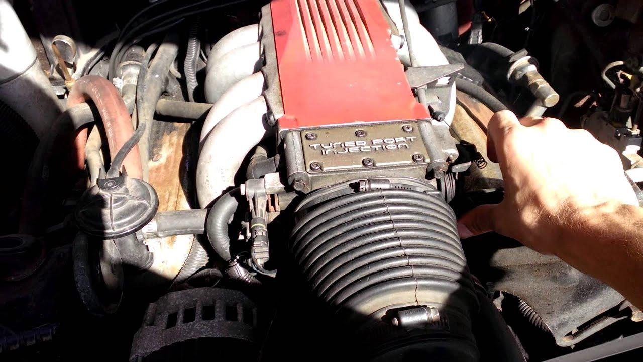 1987 Camaro 305 TPI Hard to start, runs rough, dies out, ECM problems