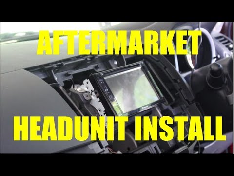 How To Install An Aftermarket Double DIN Headunit In Mitsubishi Lancer