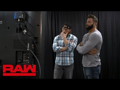 Zack Ryder and Curt Hawkins don't have a match: Raw Exclusive, Feb. 11, 2019