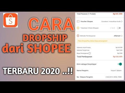cara-dropship-di-shopee