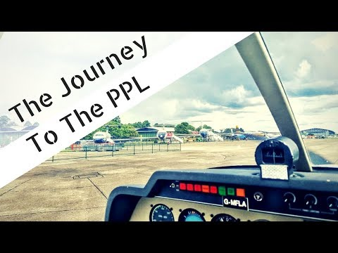 UK Private Pilots Licence | Gaining my PPL | Showreel
