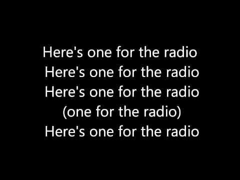 Mcfly - One For The Radio (Lyrics)