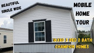 Mobile Home | Beautiful Single Wide 16x80 3 bed 2 bath Champion Homes | Mobile Home Masters