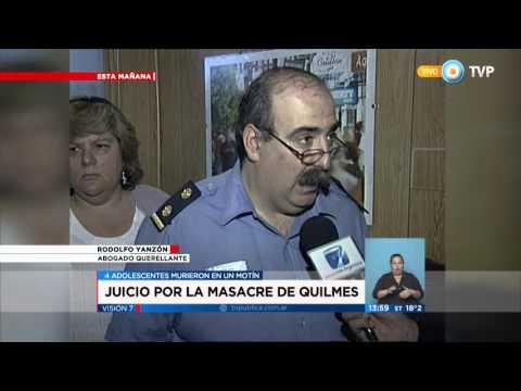 """Visión 7 - Condenan a diez policías por la """"Masacre de Quilmes"""""""