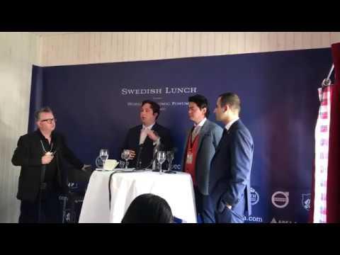 Andrew Keys at World Economic Forum- Davos 2017