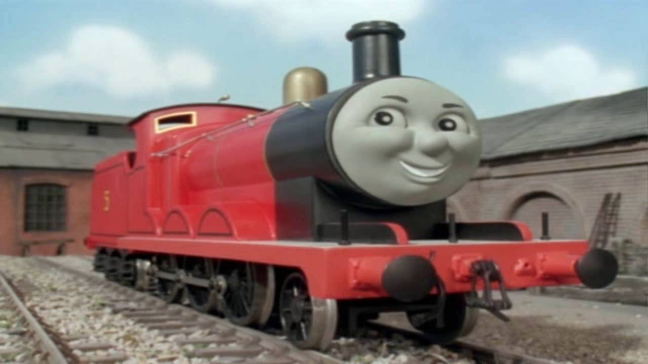 Uncategorized James Thomas And Friends thomas friends james the really splendid engine song youtube