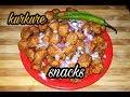 5 मिनट में सोयाबीन से बनाये चाय पर स्नैक्स | soya chunks snacks | 5 minute snacks re