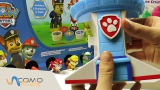 La PATRULLA CANINA 🐶 y su CENTRO DE MANDO nos hacen disfrutar con PLAY DOH thumbnail