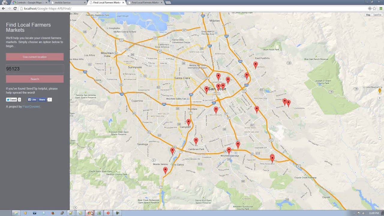 Google maps api v3 tutorial part 1 of 4 youtube gumiabroncs Images