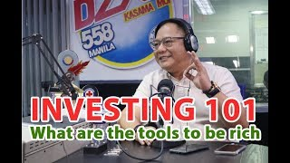 INVESTING101 | Tools to be rich - AQB