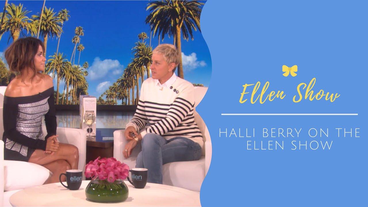 Русские Учат Английский по Американским ТВ Шоу 1 (Halle Berry on The Ellen Show)   Как Заработать Деньги в Автопилоте