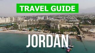 Jordan country tour    Dead Sea, Petra, Amman city   4k video   Jordan travel from drone