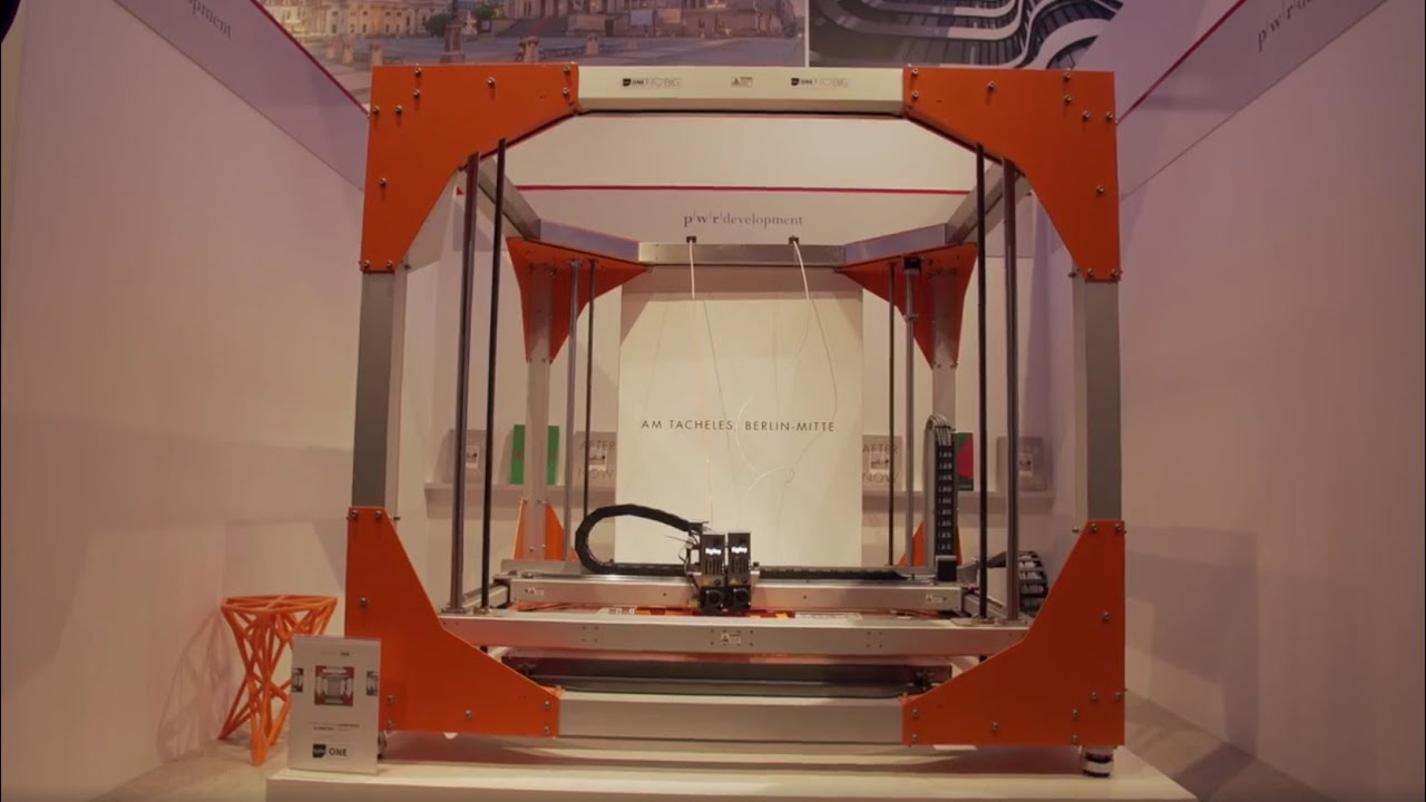 BigRep at EXPO REAL 2016 Live 3D Printing Architectural Model YouTube