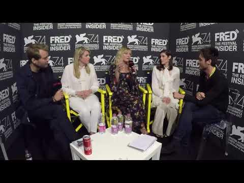 Kate and Laura Mulleavy, Kirsten Dunst and Pilou Asbaek  WOODSHOCK  74 Venice Film Festival