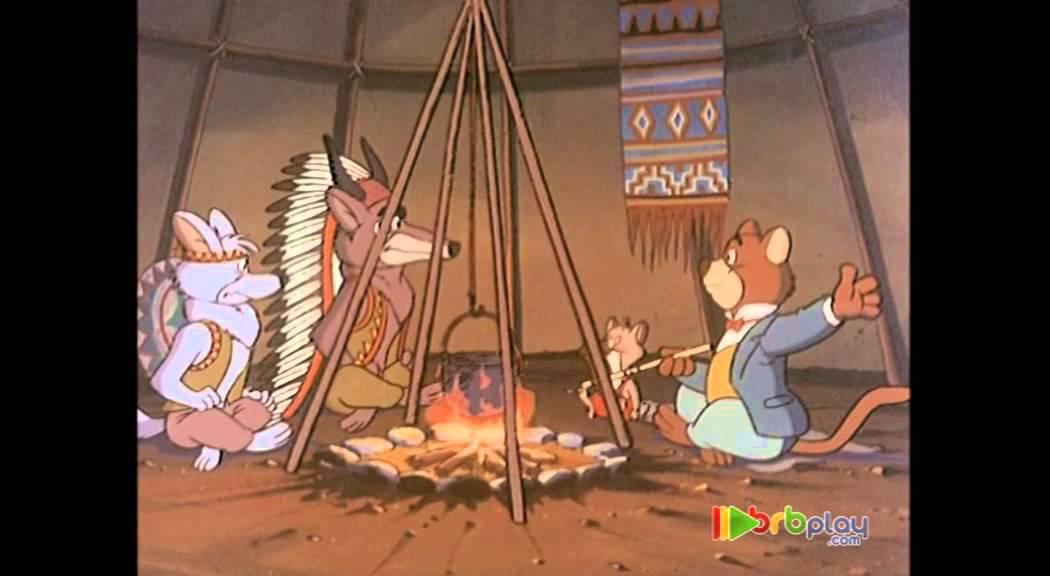 Willy Fog - Danger! The Indians have captured Tico and  Rigodón!
