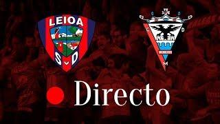 EN DIRECTO 🔴 SD Leioa - CD Mirandés (Jornada 13 - Segunda B)