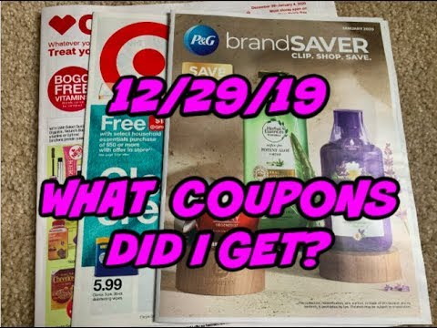 12/29/19 WHAT COUPONS DID I GET   TARGET AD PREVIEW….LOT'S OF GIFT CARD DEALS!