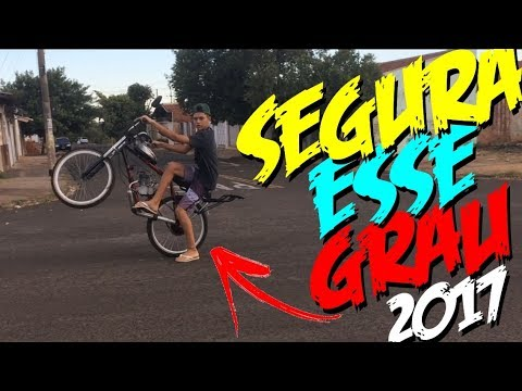 GRAU 2017 DE BIKE MOTORIZADA!