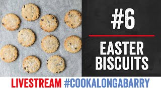 Easter Biscuits - Livestream 6 #cookalongabarry