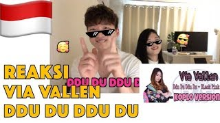 Reaksi Via Vallen - Ddu Du Ddu Du   Blackpink Koplo Version  Korean Reaction