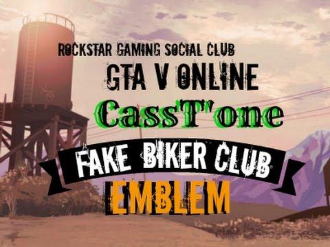 gta v online how to add an emblem