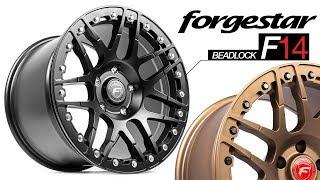 Drag Racing's First Concave Monoblock Beadlock Wheel: Forgestar F14