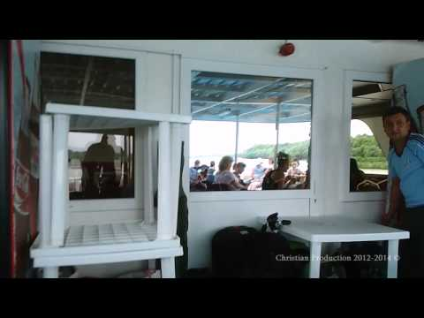 On the ship from Tulcea to Sf Gheorghe Danube Delta HD
