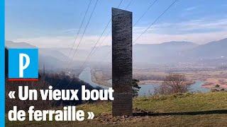 Après les Etats-Unis, un autre monolithe en métal découvert, puis disparu, en Roumanie