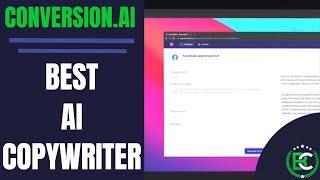 GPT-3 AI Copywriting | ✏️ Best AI Copywriter ✏️ | Conversion.AI