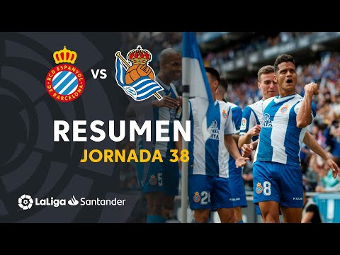Highlights RCD Espanyol vs Real Sociedad (2-0) from YouTube · Duration:  1 minutes 31 seconds
