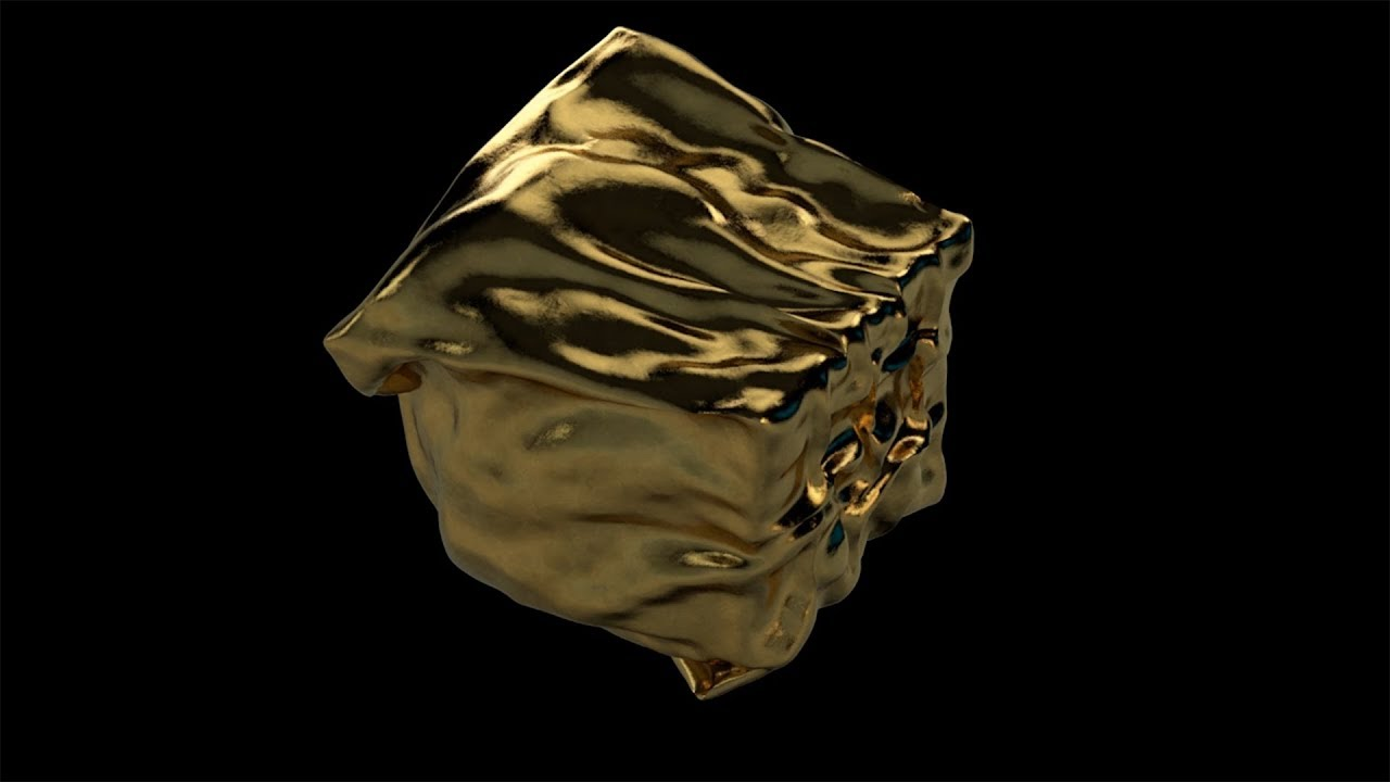 Download Cinema 4D Tutorial - Controlling Cloth Simulations Using Mograph Fields