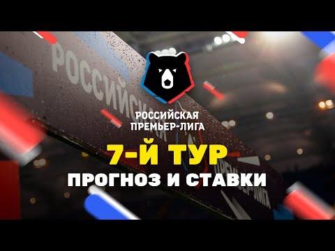 Прогнозы на 7-й тур РПЛ, Чемпионат России по футболу