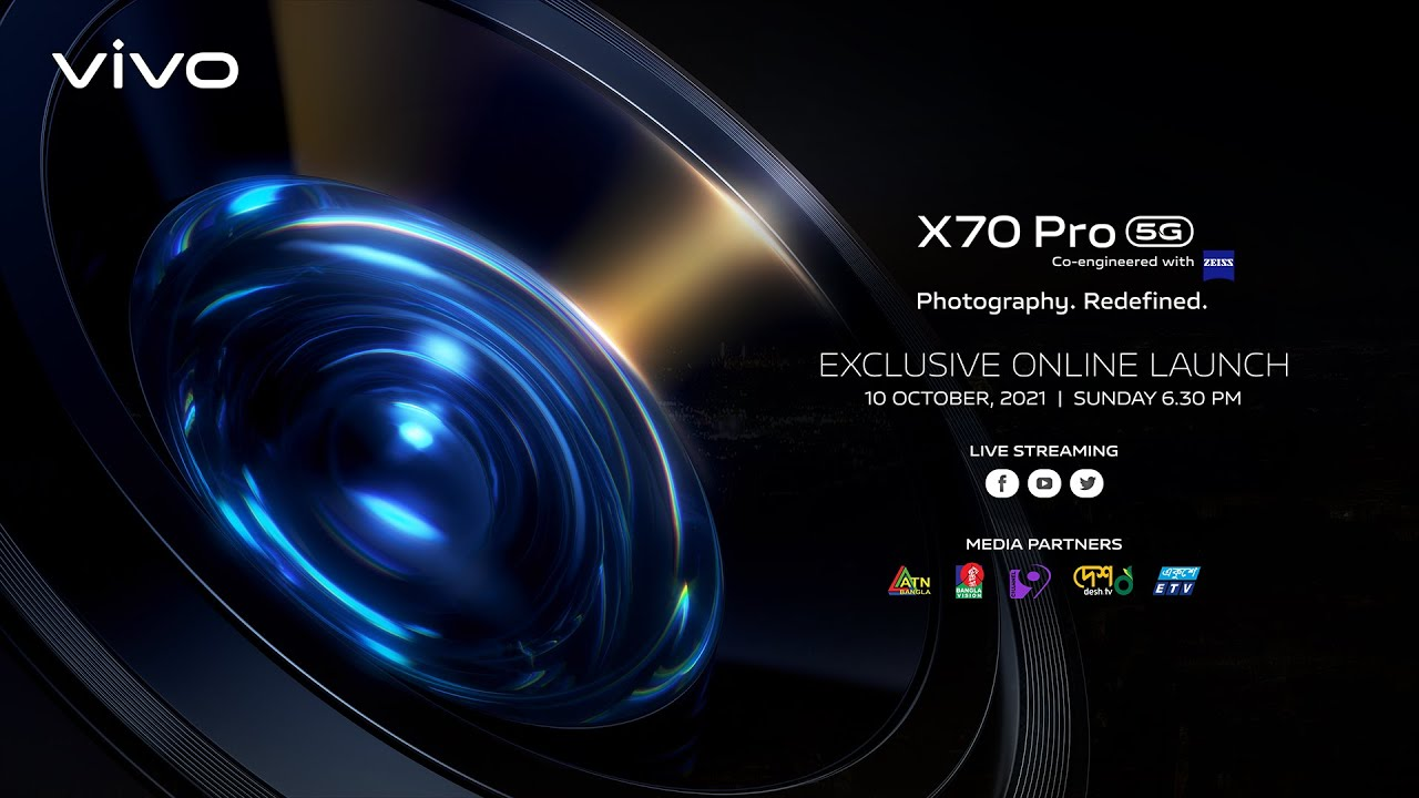 X70 Pro Online Launch Event   Full Exclusive Feature