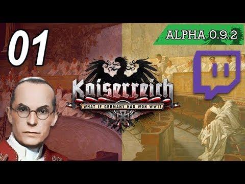 Kaiserreich Hoi4 [Papal State] (VOD) - Part 1 - Resurrecting The Republican Ideals