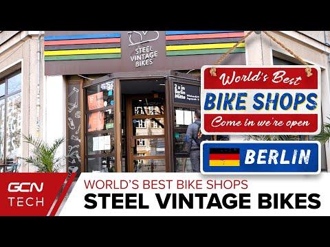 Steel Vintage Bikes | GCN Checks out Berlin's Coolest Bike Shop