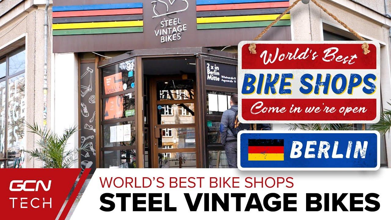 Steel Vintage Bikes   GCN Checks out Berlin's Coolest Bike ...