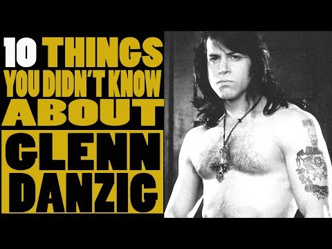 10 Things you didn't know about Glenn Danzig