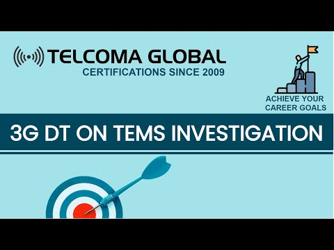 3G / WCDMA DT (Drive Test) Parameters on TEMS Investigation 17 . X (Real Time)