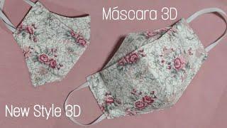 Aprenda a Fazer Você Mesma – Máscara 3D com Porta Filtro