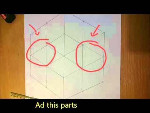 How to draw illusion from Nikola Pašić square