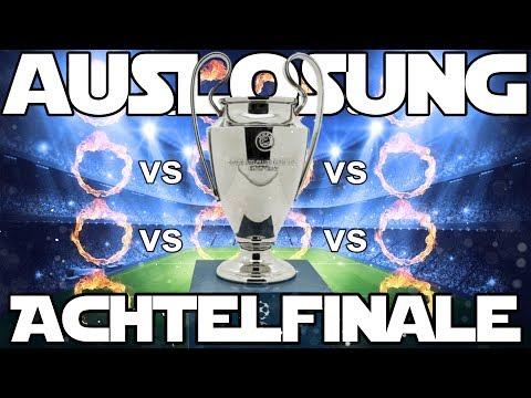 Champions League LIVE AUSLOSUNG ACHTELFINALE