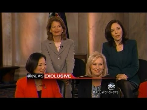 Senator Murkowski and the Women Senators of the 113th Congress on ABC