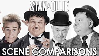 Stan & Ollie (2018) - scene comparisons