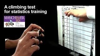 Drosophila Climbing test for statistics training