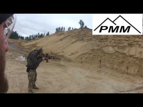 SCAR 17 Machine Gun running 123 Drill